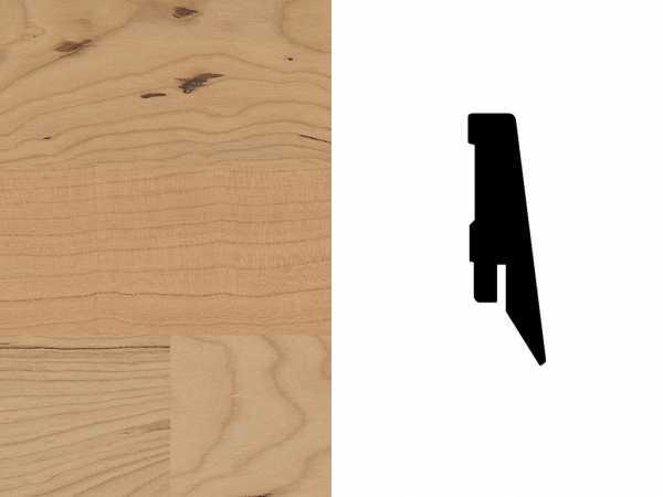 Sockelleiste Kirschbaum amerikanisch Furnier Profil SKL 60