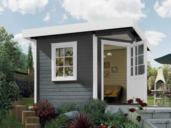 Gartenhaus Designhaus 213 Plus Gr. 2 anthrazit