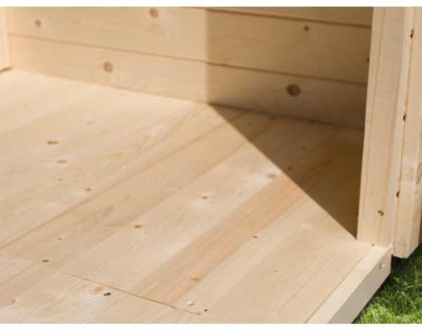 Fußboden passend für Sockelmaß 364 x 244 cm