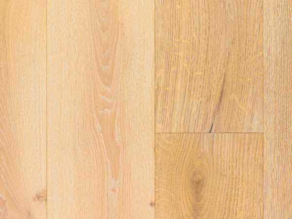 Massivholzdiele Eiche Rustikal weiß 5% geölt