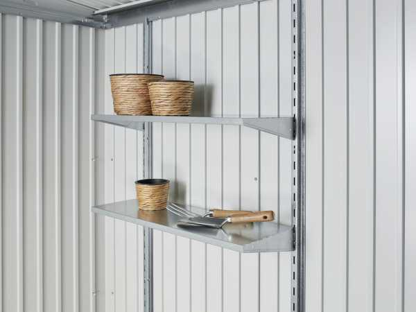 Regalboden-Set 2 Stk. zu Gerätehäuser und Geräteschrank