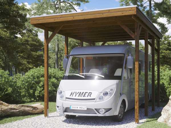 "Caravan-Carport ""Friesland"""