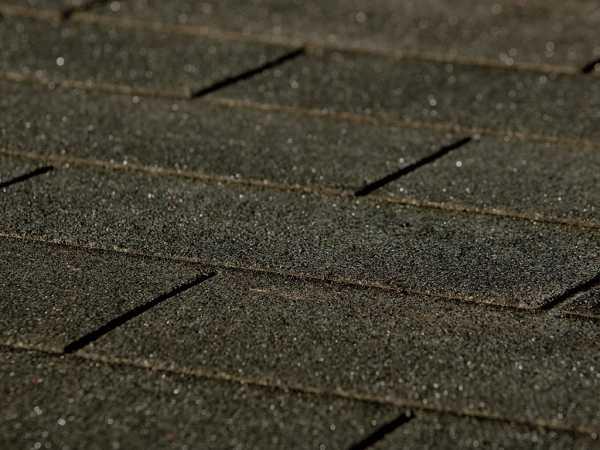 Dachschindel SET rechteckig anthrazit für Saunahaus Kurikka