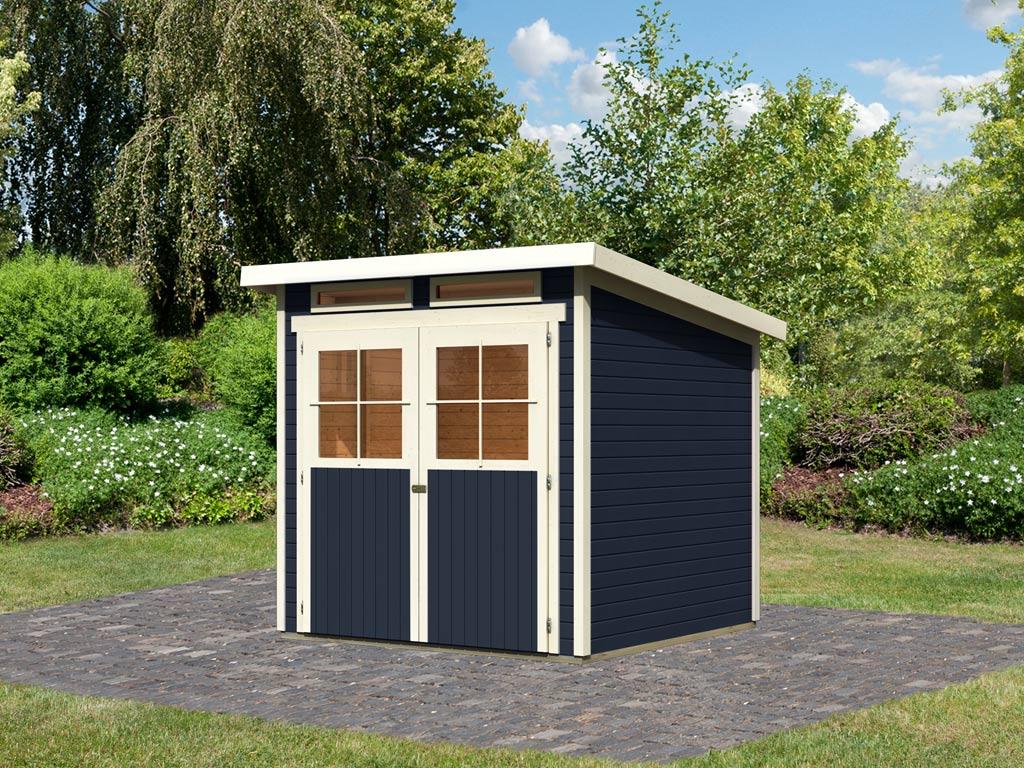 gartenhaus gl cksburg 3 19 mm opalgrau 761083. Black Bedroom Furniture Sets. Home Design Ideas