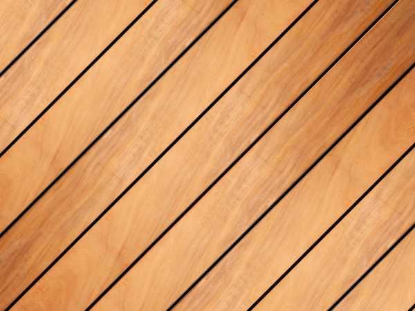 Terrassendiele Garapa KD-technisch getrocknet