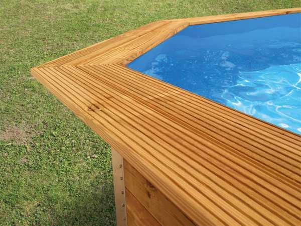 Toprail - Handlaufverbreiterung für Pools