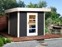Gartenhaus Designhaus 172 Gr. 1 28 mm anthrazit