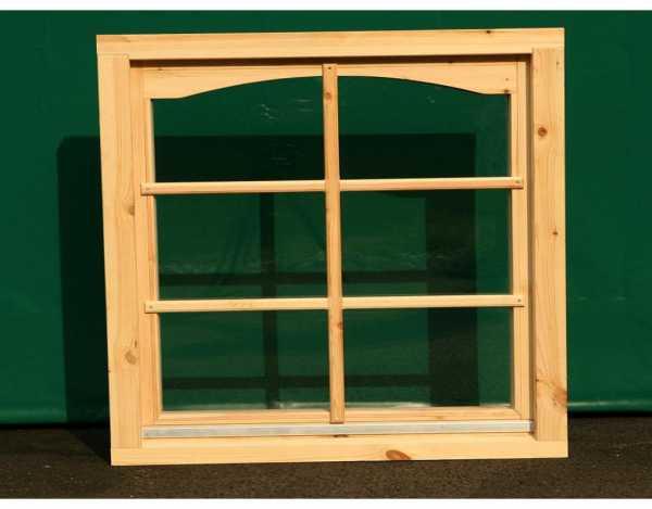 Einzelfenster für 44 mm Gartenhaus