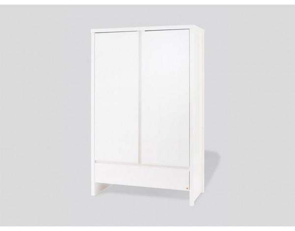 kleiderschrank aura fichte wei lasiert kleiderschrank kinderm bel kinderwelt holzprofi24. Black Bedroom Furniture Sets. Home Design Ideas