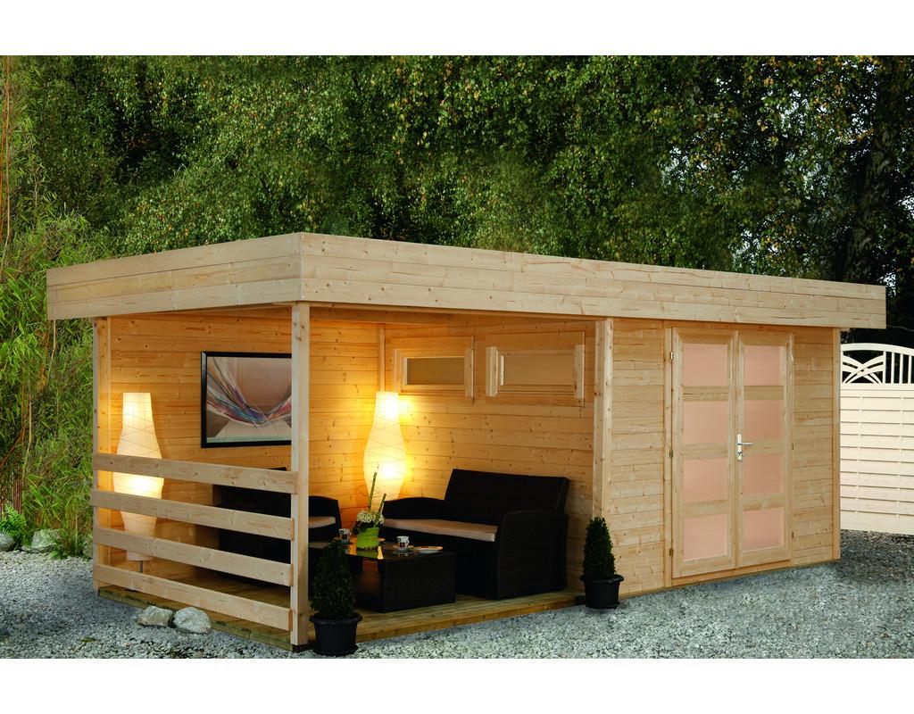 gartenhaus mit terrasse preisvergleiche. Black Bedroom Furniture Sets. Home Design Ideas