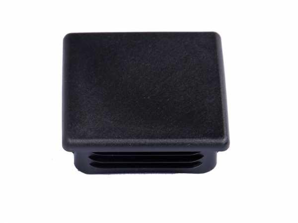 Pfostenkappe PVC schwarz