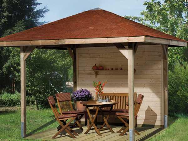Gartenlaube Sparset Gartenoase 651 Gr. 2 KDI