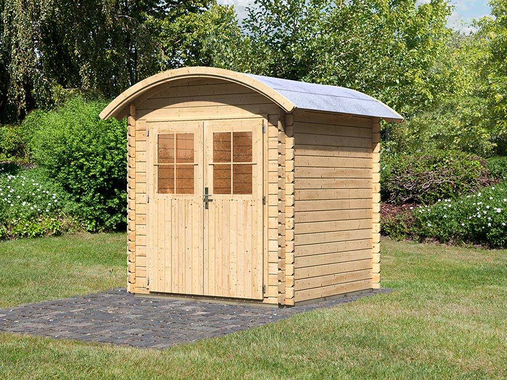 Tonnendach Gartenhaus online kaufen | Holzprofi24