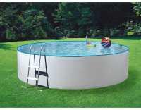 Poolset Splash mit Sandfilter Ø 3,60 x 0,90 m