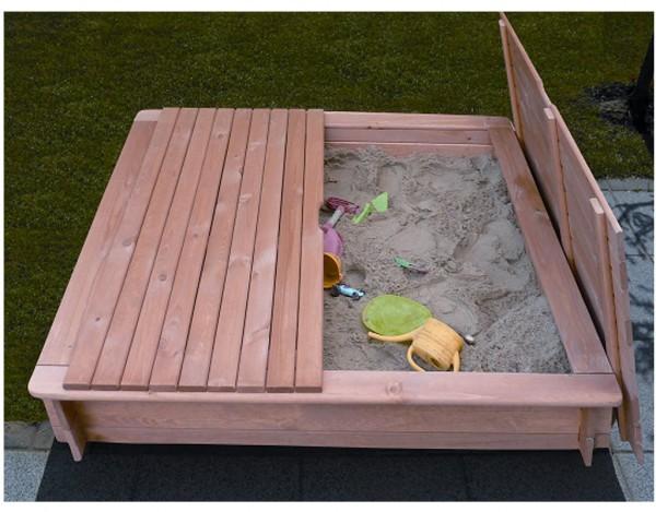 sandkasten tessa gro inkl abdeckung sandkasten f r kinder garten holzprofi24. Black Bedroom Furniture Sets. Home Design Ideas