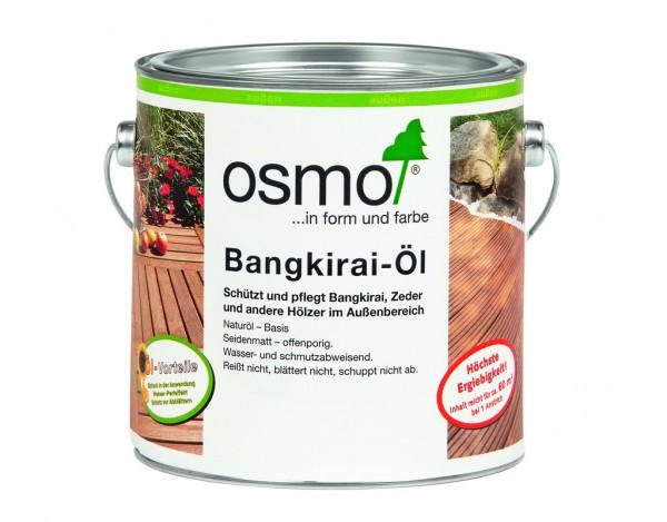 Bangkirai Öl 006 naturgetönt seidenmatt 2,5 Liter