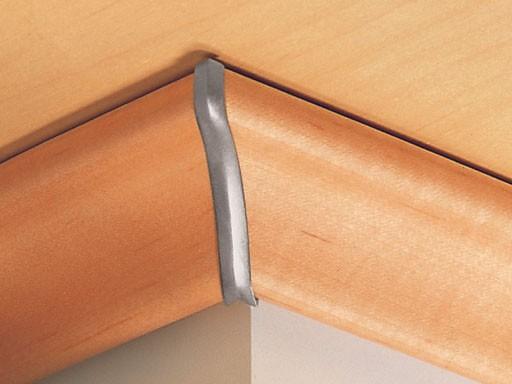 Außenecken für Deckenabschlussleisten DAL 2, Alu-Optik