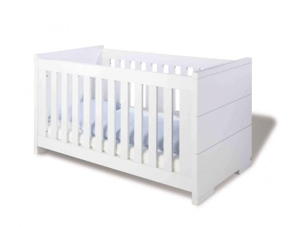 Kinderbett Polar MDF, weiß lackiert