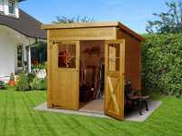 Gartenhaus 325 Gr. 2 19 mm lasiert