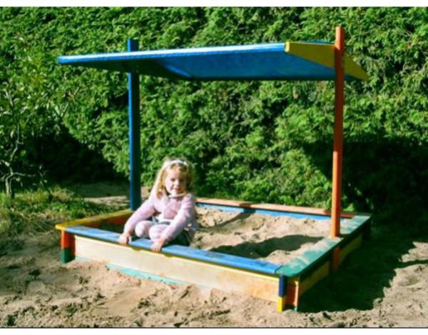 """Sandkasten """"Nadine"""" farbig"""
