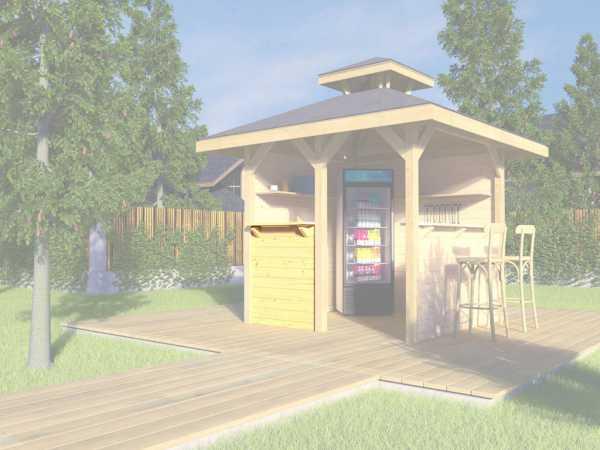 Bausatz Treseneingang für Gartenoase 651 Gr. 1