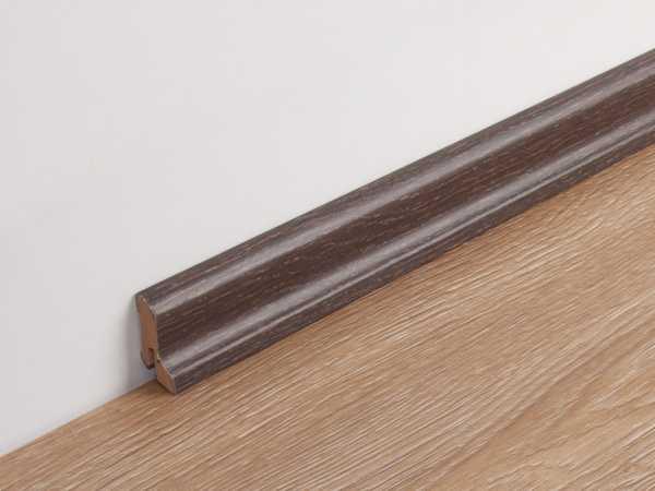 Sockelleiste Räuchereiche 6035 Profil 1 MK Dekor