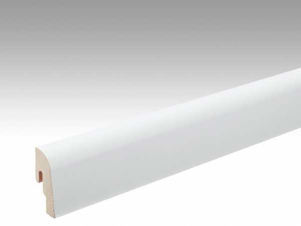 Sockelleiste Uni-weiß glänzend Dekor Profil 2 PK