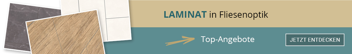 Laminat mit Fliesenoptik