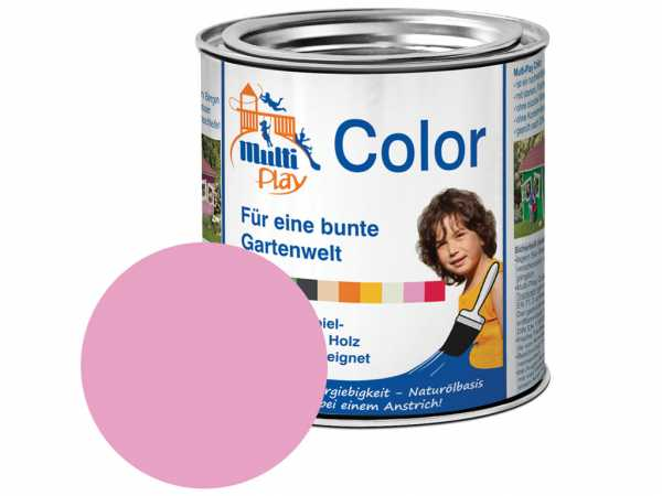 Multi-Play Color Holzfarbe rosa