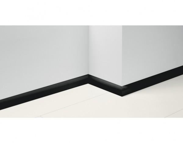 Sockelleiste Uni schwarz Dekor SL2