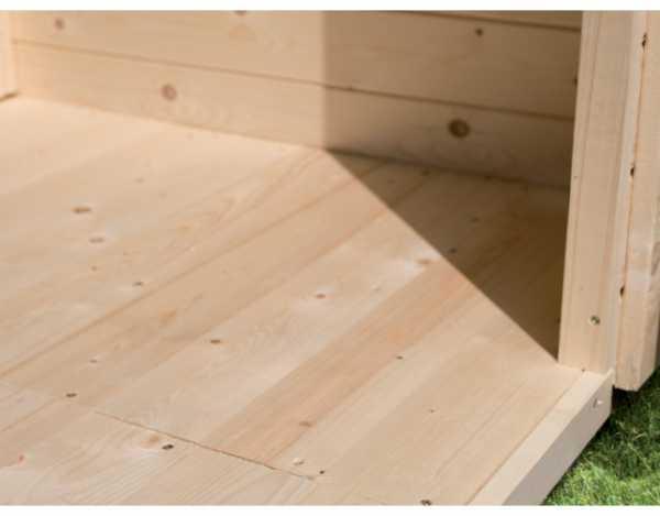 Fußboden passend für Sockelmaß 220 x 220 cm