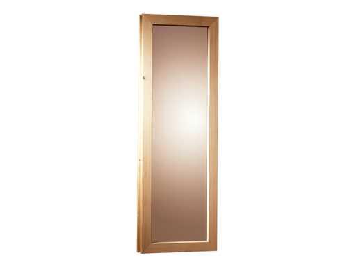 Fenster groß für 40 mm Saunen