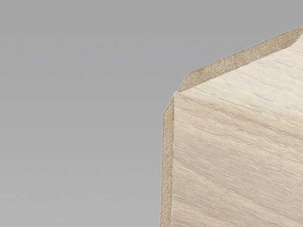Wand- und Deckenleiste Eiche natur gekälkt 12 Dekor
