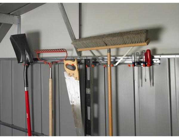Metallgerätehaus Zubehör Geräteleisten-Set TH 100