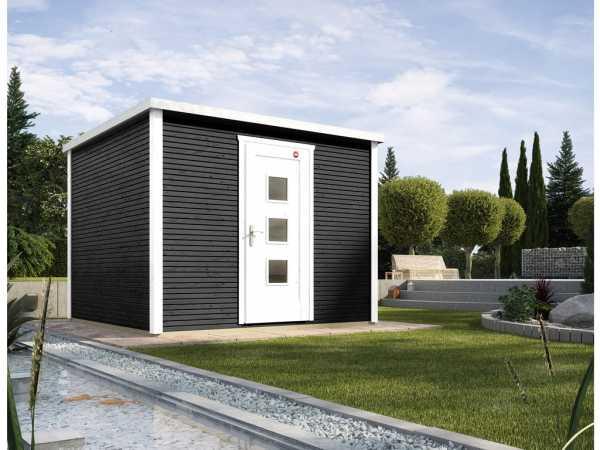 Gartenhaus Designhaus wekaLine 413 Gr. 2 45 mm anthrazit