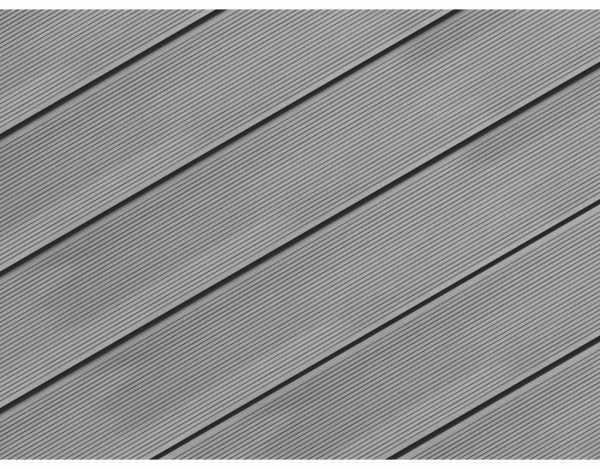 Terrassendiele WPC Easy Silver Cedar