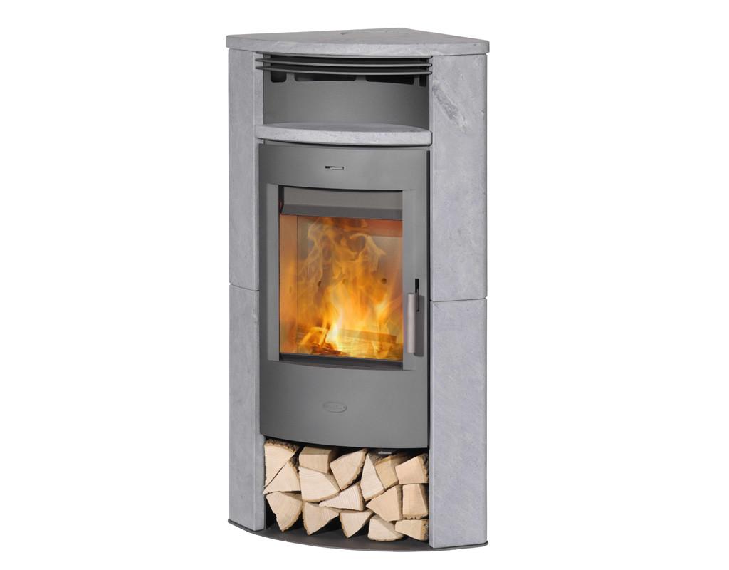 kaminofen fireplace malta speckstein gussgrau 6kw preisvergleich g nstig kaufen bei. Black Bedroom Furniture Sets. Home Design Ideas