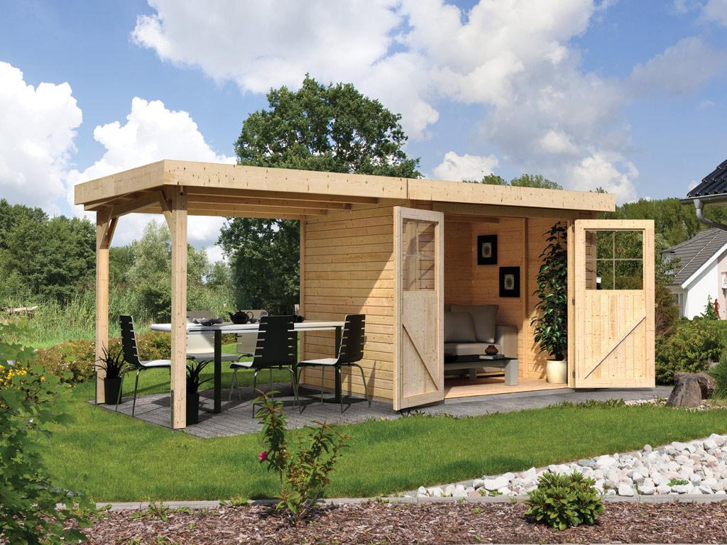 gartenhaus sparset limburg 3 eco 19 mm naturbelassen. Black Bedroom Furniture Sets. Home Design Ideas