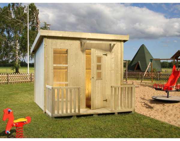 Spielhaus Harry 3,1 m² naturbelassen