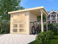 Gartenhaus 321 A Gr. 1 19 mm naturbelassen