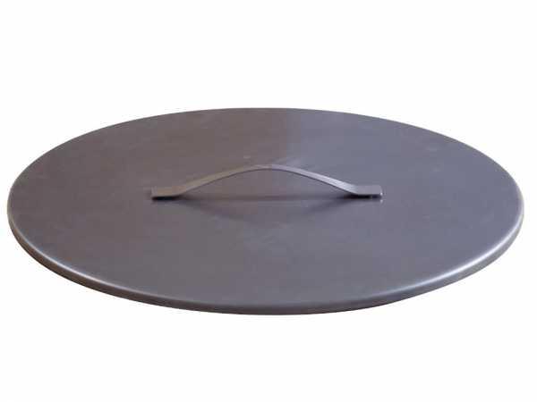 Design Feuerschalendeckel Rohstahl