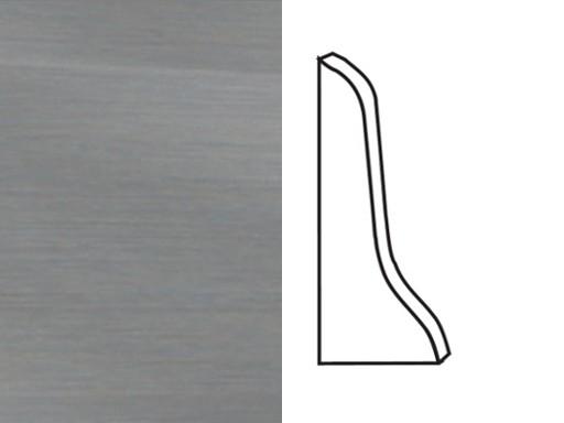 Endkappen für Sockelleiste Profil 1 1K 1 MK Edelstahl Optik 2002