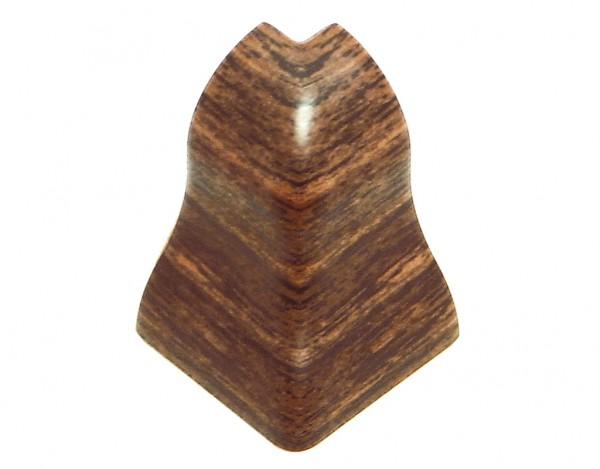 Außenecken für Sockelleisten Profil SKL 20, Braun