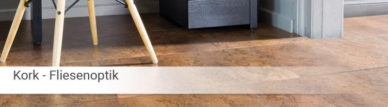 korkboden in fliesenoptik online kaufen. Black Bedroom Furniture Sets. Home Design Ideas