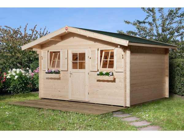 Gartenhaus 138 Gr. 2 45 mm naturbelassen