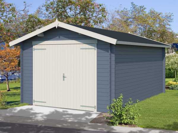 Garage Mauritius 28 mm taubenblau