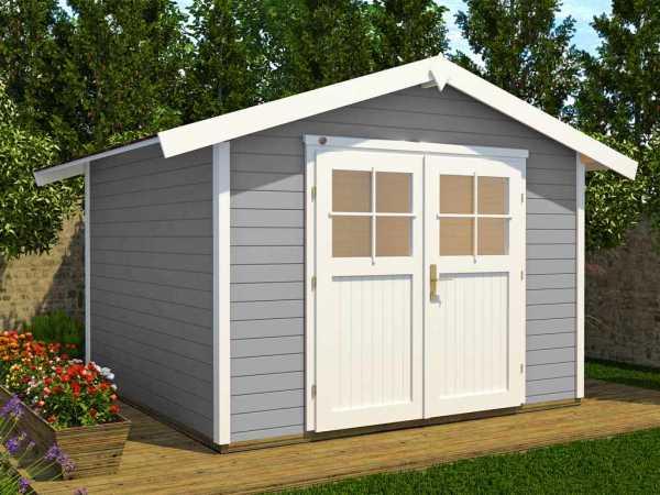Gartenhaus 122 Gr. 1 28 mm grau