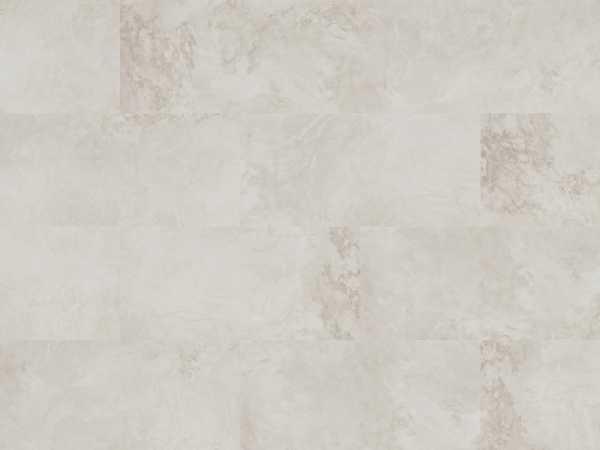 Korkboden Hydrocork Light Grey Marble Fließenoptik