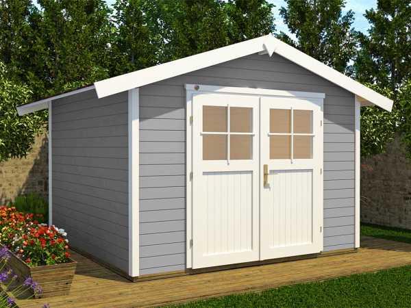 Gartenhaus 122 Gr. 4 28 mm grau