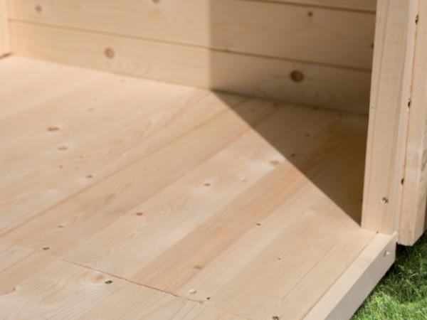 Fußboden für Gerätehaus Bomlitz 4 234 x 352 cm